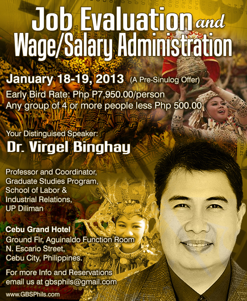 wage and salary administration in the philippines Average salary in manila is php 827,563 hr head of country for the philippines with international - provides input into compensation administration.